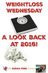 1/4 Weightloss Wednesday: A Look Back at 2016!