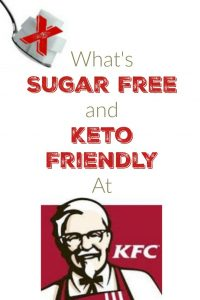 What's Sugar Free at KFC?