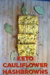 Crispy Keto Cauliflower Hashbrown Recipe!
