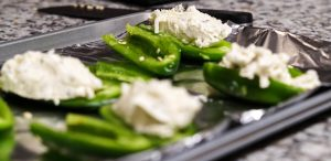 Mmmm...Stuff those peppers with delicious cream cheese!