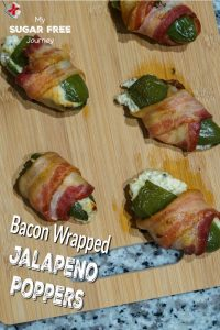 Ketogenic Becon Wrapped Jalapeno Poppers Recipe