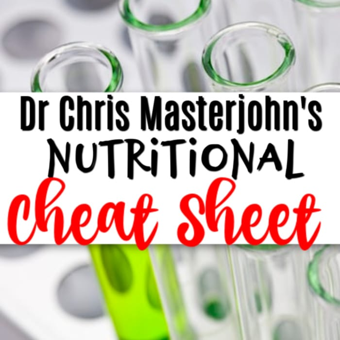 Want to know how to test for nutritional deficiencies in your diet?  Check out my review of Dr. Chris Masterjohn's The Ultimate Cheat Sheet.  Click through to learn more...