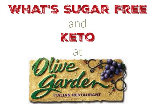 what is sugar free and keto friendly at olive garden - Olive Garden Donation Request
