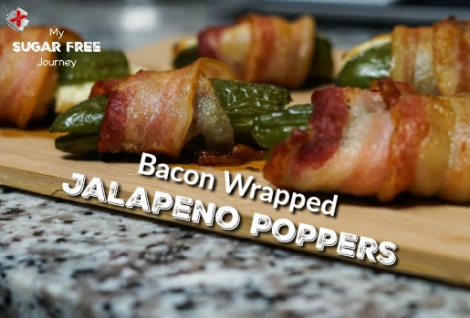 Ketogenic Bacon-Wrapped Jalapeno Poppers