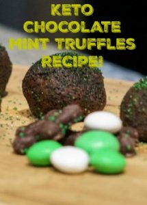 Keto Chocolate Mint Truffles Recipe!