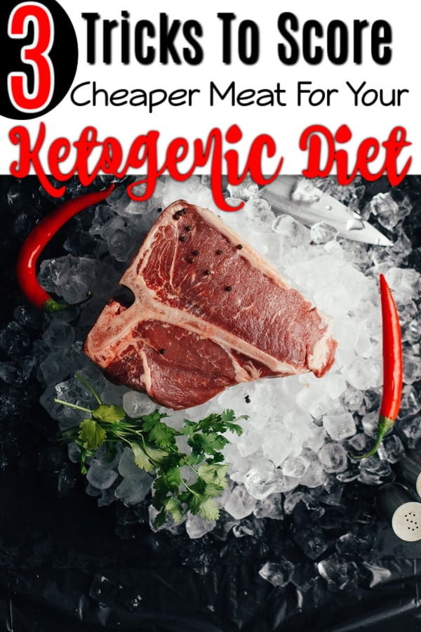 Meat is key on a keto diet, but it can be expensive.  Click through NOW to check out these 3 Tricks To Score Cheaper Meat For Your Ketogenic Diet...